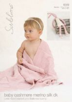 6009 - Little Heart Blanket & Ballerina Bunny Knitting Pattern